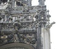 Quinta da Regaleira Palace em Sintra, Portugal closuep da arquitetura Fotografia de Stock