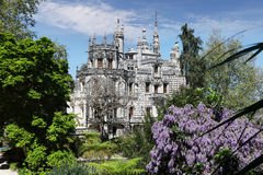 Quinta da Regaleira palace in the municipality of Sintra, Portug Stock Photography