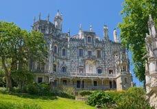 Quinta da Regaleira Palace Royalty Free Stock Photography