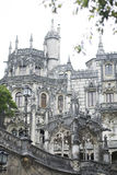 Quinta da Regaleira palace in Sintra, Portugal. Royalty Free Stock Photography