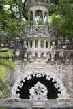 Quinta da Regaleira palace in Sintra, Portugal. Part of the park Royalty Free Stock Photo