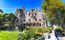The Quinta da Regaleira Royalty Free Stock Photo