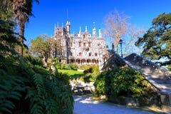 Quinta da Regaleira in Sintra, Portugal Royalty Free Stock Photo