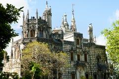 Quinta da Regaleira Tower - Sintra - Portugal Stock Photos