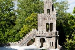 Quinta da Regaleira Tower - Sintra - Portugal Stock Images