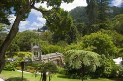 Quinta da Regaleira - view from Main house Stock Image