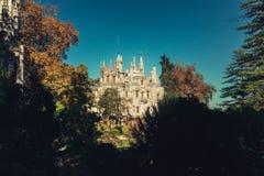 Quinta da Regaleira Wolnomularski symbol Sintra zdjęcie stock