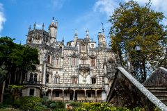 Quinta da Regalera palace, Sintra royalty free stock images