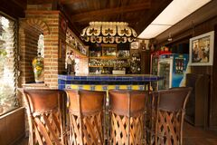 Free Quinta Don Jose Hotel Bar Royalty Free Stock Photography - 189176797