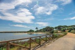 Quinta font le paysage de Lago, dans Algarve Photographie stock