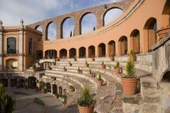 Quinta Real Hotel in Zacatecas royalty free stock photos