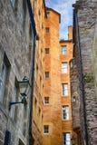 Quintal típico em Edinbourgh Fotos de Stock