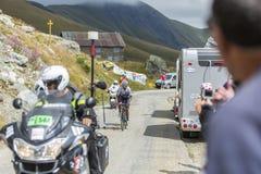 Quintana на дорогах гор - Тур-де-Франс 2015 Стоковые Фото