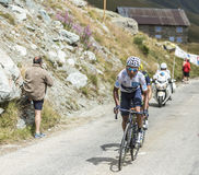 Quintana on the Mountains Roads Stock Images