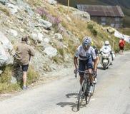 Quintana sulle strade delle montagne Immagini Stock