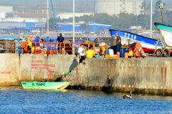 Quintero o Chile - porto Imagem de Stock