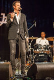 Quinteto de Till Broner no jazz 2015 de Kaunas Imagem de Stock