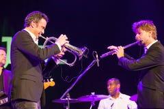 Quinteto de Till Bronner no jazz 2015 de Kaunas Fotos de Stock Royalty Free