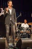 Quintetto di Till Broner a jazz 2015 di Kaunas immagine stock