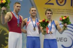 quinti Campionati europei in ginnastica artistica fotografia stock