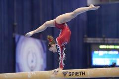 quinti Campionati europei in ginnastica artistica Fotografie Stock Libere da Diritti