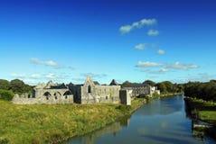 Quintilla franciscana Irlanda del Co. del monasterio Imagen de archivo