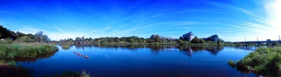 Quintilla Irlanda de Shannon del río Fotografía de archivo