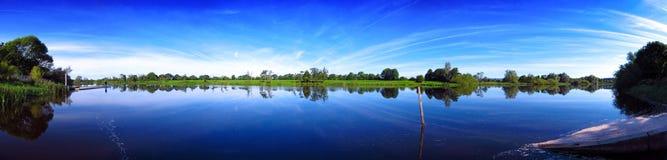 Quintilla Irlanda de Shannon del río Imagen de archivo