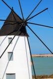Quintin Mill im Salinende San Pedro Stockbilder