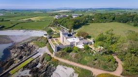 Quintin slott Portaferry ståndsmässigt ner, nordligt - Irland royaltyfri bild