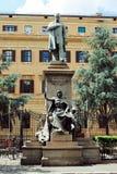 Quintino Sella (7 Juli 1827 - 14 mars 1884) var en italiensk statsman och finansiär Royaltyfria Bilder