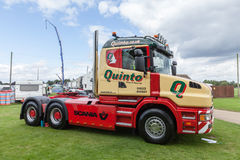 Quinto truck at Truckfest Norwich UK Stock Photo