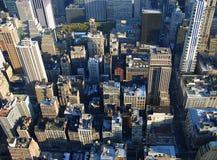 quinto viale da sopra, New York Fotografia Stock