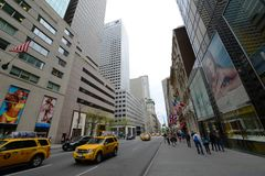 Quinto viale, Manhattan, New York Immagini Stock