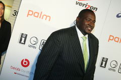 Quinton Aaron  #1. Actor, Quinton Aaron from the Blind Side, attends the 2010 BET After Party at Mr. Chow's in Beverly Hills, California Stock Images