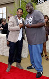 Quinton Aaron och Will Smith Royaltyfria Bilder