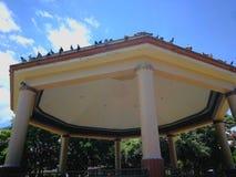 Quiosco Central Park Heredia Коста-Рика Стоковое Изображение RF