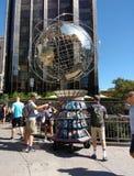 Quiosco de la información turística, Columbus Circle, New York City, los E.E.U.U. Fotos de archivo