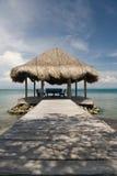 Quiosco de la playa fotografía de archivo libre de regalías