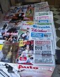 Quiosco de periódicos Fotos de archivo libres de regalías