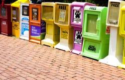 Quiosco de periódicos Fotografía de archivo libre de regalías