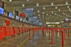 Quiosque de Austrian Airlines imagens de stock royalty free
