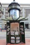 Quiosque de jornal San Francisco fotos de stock royalty free