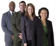 Équipe confiante d'affaires Image libre de droits