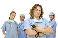 Équipe de médecins Image libre de droits