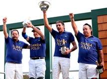 Équipe de polo du Brésil d'équipe Image stock