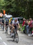Équipe de Procycling de ciel Photo libre de droits