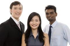 Équipe diverse 2 d'affaires Photo stock