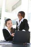 Équipe diverse d'affaires de femmes Image libre de droits