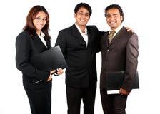 Équipe indienne intelligente d'affaires Photos stock